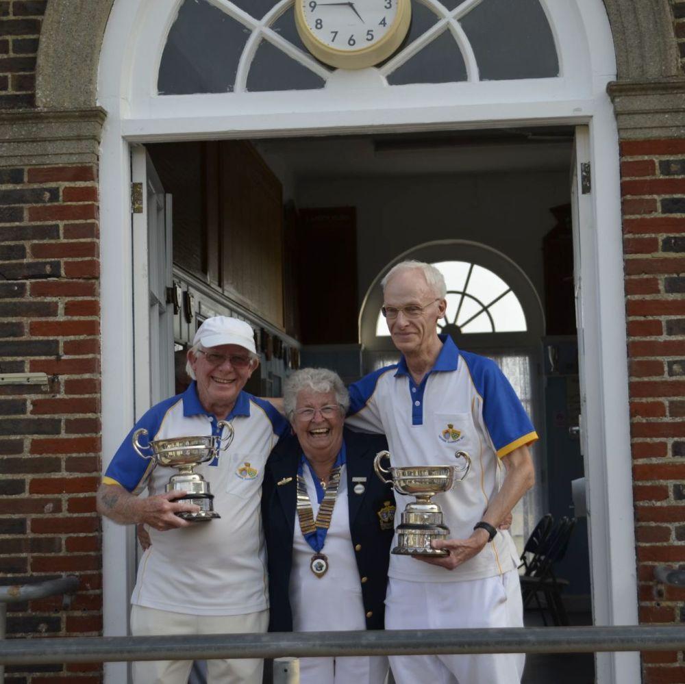 John Nettleingham & Gerry Perch - Handical Pairs Winners