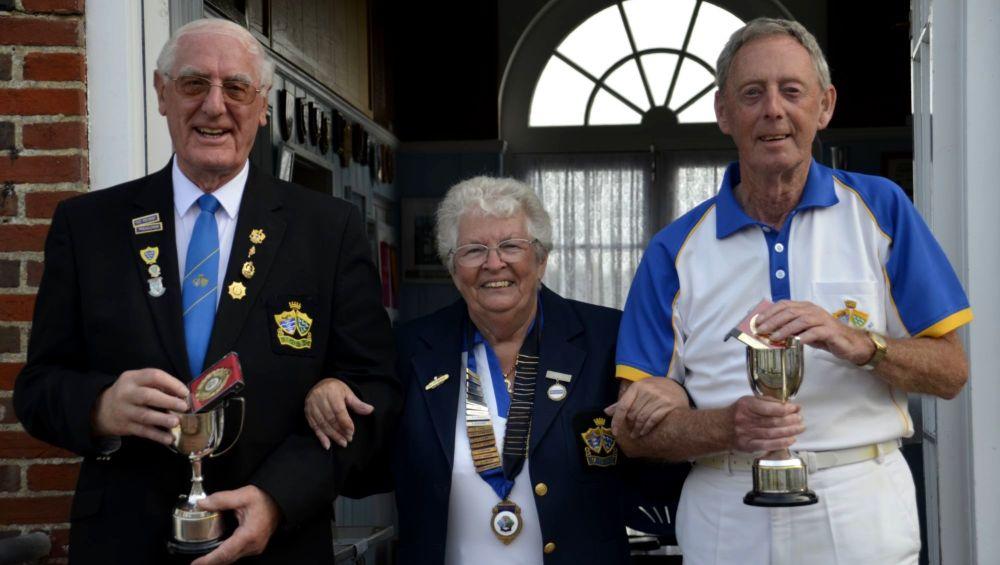 Norman Deegan & Leon White - Mens Championship Pairs Winners