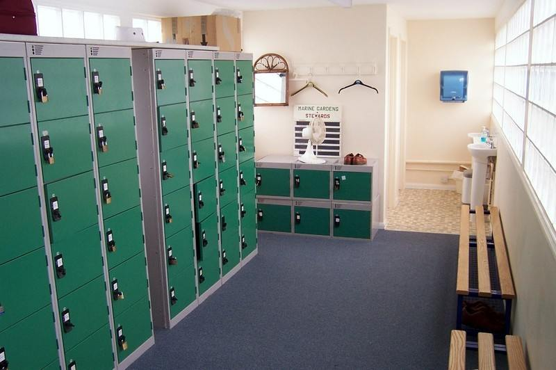 Clubhouse - Locker room