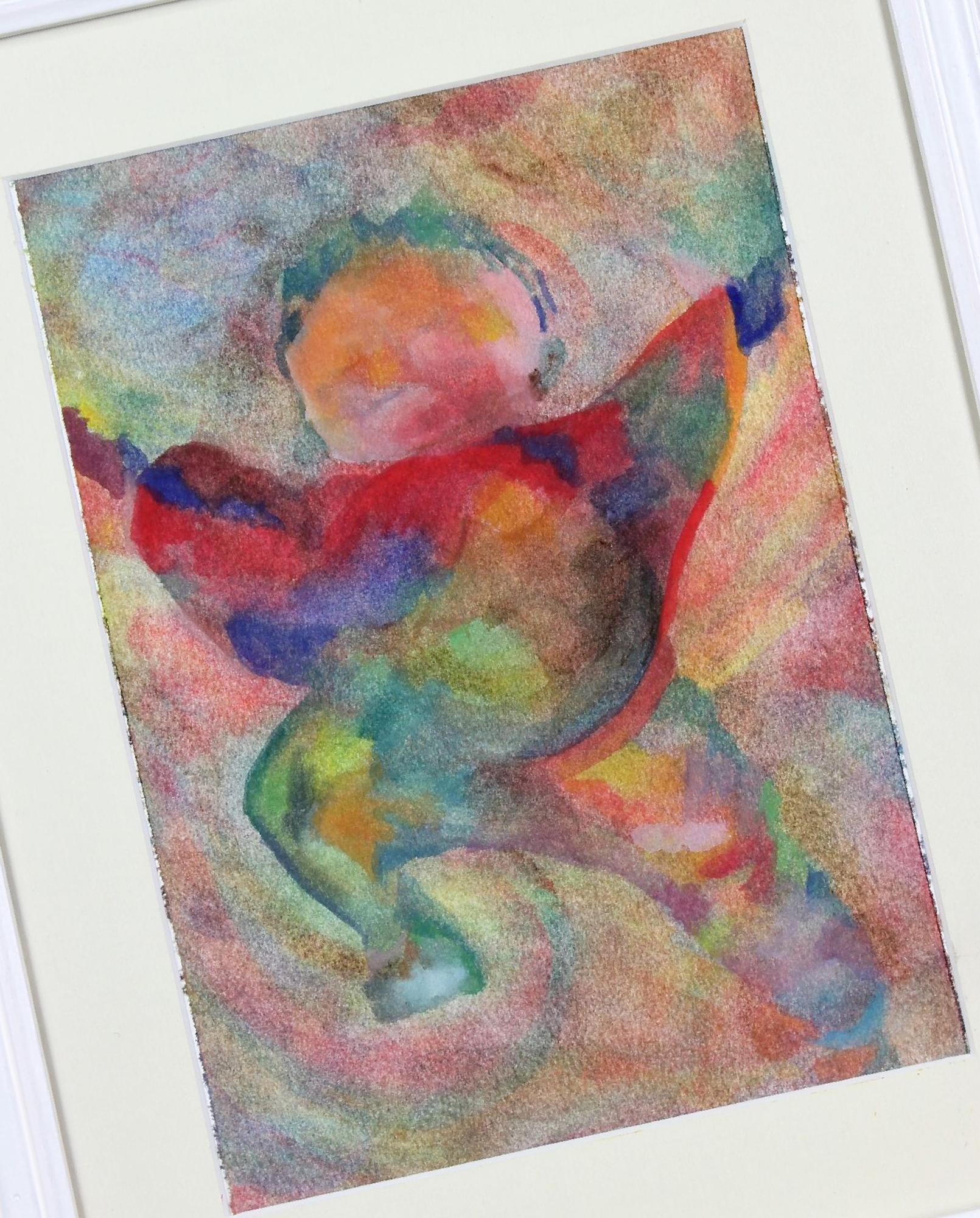 Baby Jane, watercolour