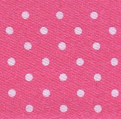 25mm Spotty Ribbon - Mini Pink 5932-72