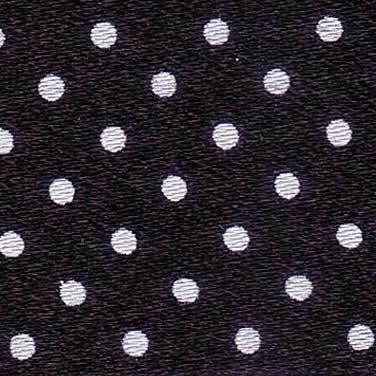 25mm Spotty Ribbon - Mini Black 5932/10