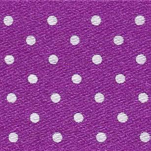 25mm Spotty Ribbon - Mini Purple 5932-19