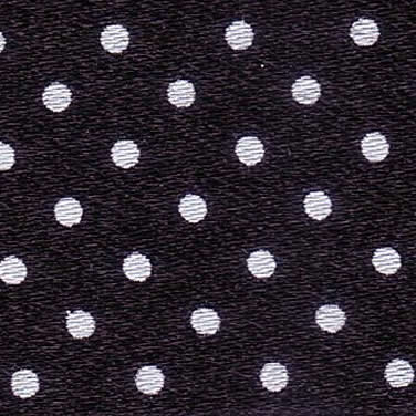 15mm Spotty Ribbon - Mini Black 5932-10