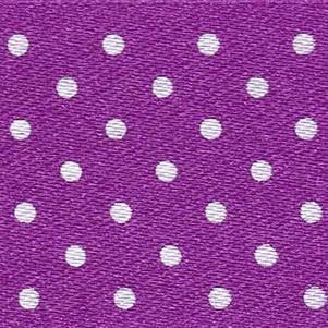 15mm Spotty Ribbon - Mini Purple 5932-19