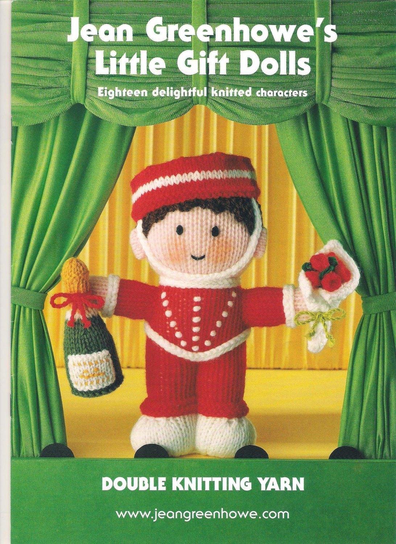 Little Gift Dolls, Knitting Pattern by Jean Greenhowe