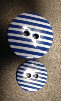 Buttons - Striped Royal Blue 765 P1725