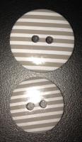Buttons - Striped Taupe 880 P1725