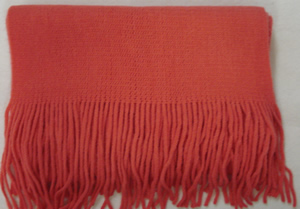 Adult Soft Touch Scarf - Salmon AO20S Reduced Price!