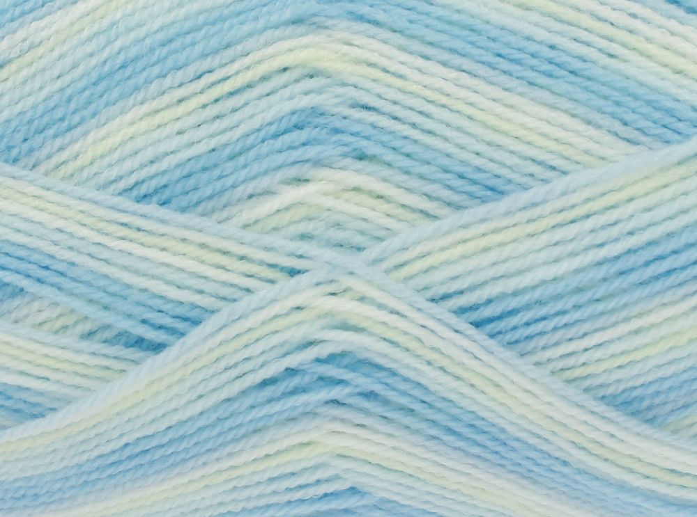 Big Value Baby 4 Ply Print - Lagoon 2571