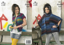 3215 Knitting Pattern - Ladie's Double Knit (Riot)*