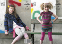 3218 Knitting Pattern - Double Knit (Riot)*