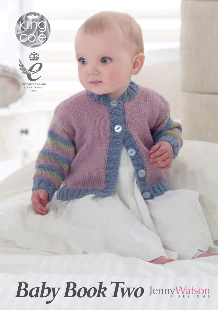 Baby Book 2 King Cole Knitting Patterns