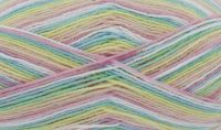 Big Value Baby 4 Ply Print - Rainbow 3262