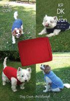 K9 Knitting Pattern DK & Aran - Dog Coats