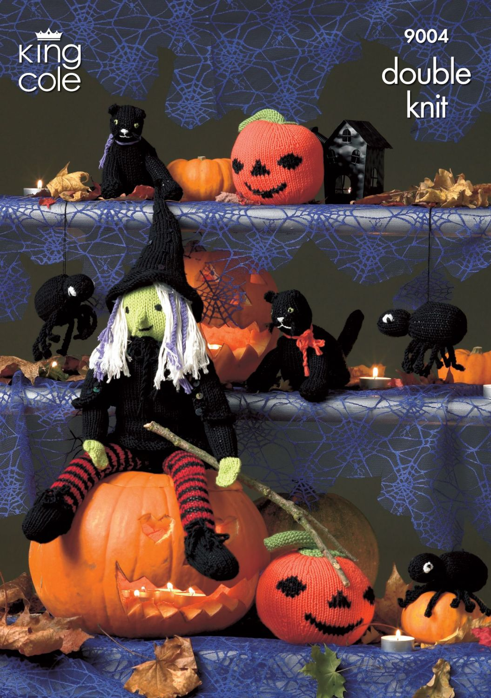 9004 Knitting Pattern - Halloween