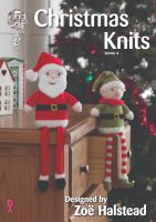 Christmas Knits Book 4 Designed by Zoe Halstead
