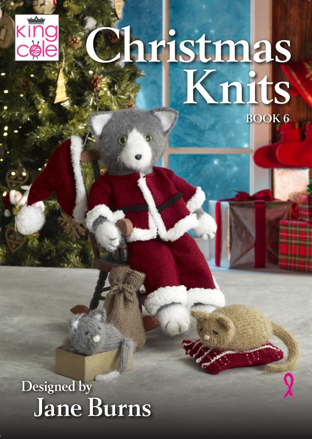 Christmas Knits Book 6 Designed by Jane Burns