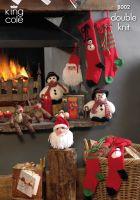8002 Knitting Pattern - Christmas
