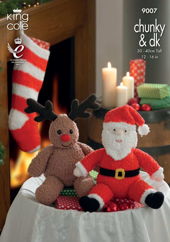 9007  Christmas - Chunky & DK - Knitting Pattern