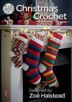 Christmas Crochet Book 1 - Designed by Zoe Halstead