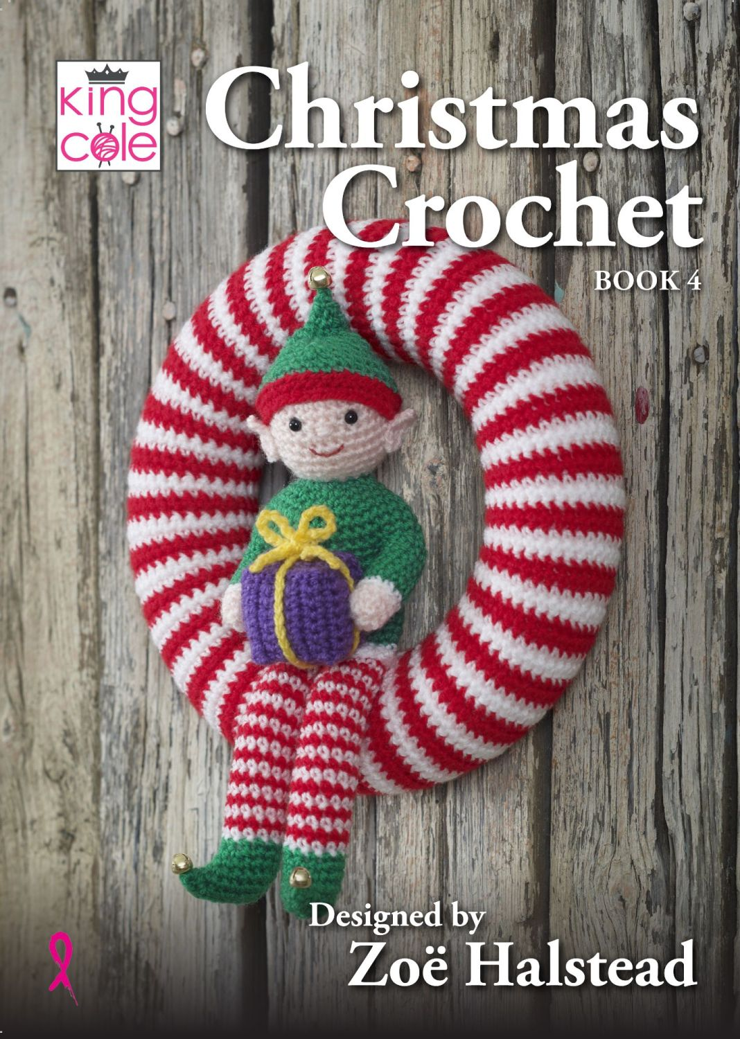Christmas Crochet Book 4 - Designed by Zoe Halstead