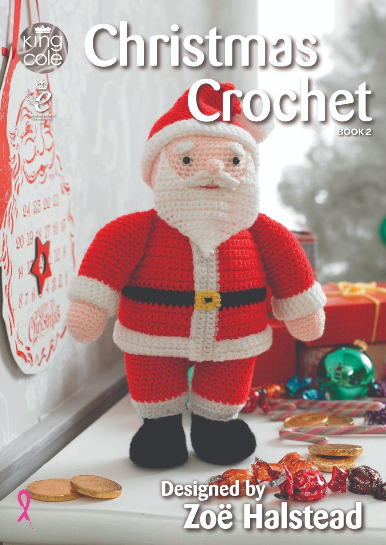 Christmas Crochet Book 2 - Designed by Zoe Halstead
