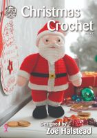 Christmas Crochet Book 2 - Designed by Zoe Halstead