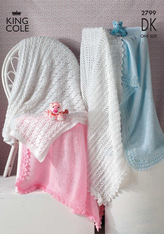 2799 Knitting Pattern DK - Shawls