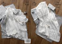 3507 Knitting Pattern DK & 4 Ply - Shawls