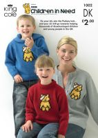 1002 CHILDREN IN NEED KNITTING PATTERN