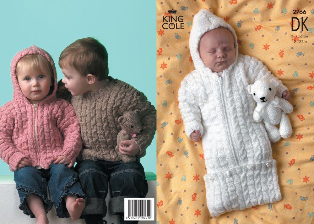 2766 DK - Knitting Pattern