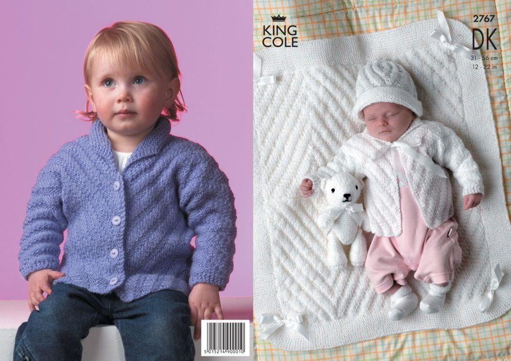 2767 DK - Knitting Pattern