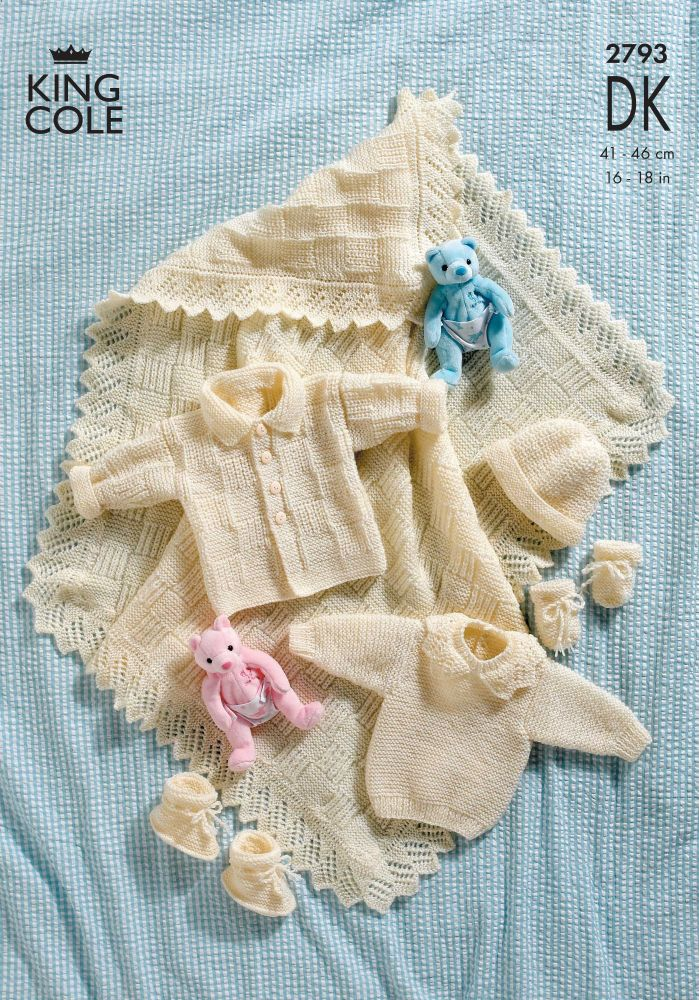 2793 DK - Knitting Pattern