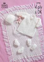 2798 4 PLY & DK - Knitting Pattern