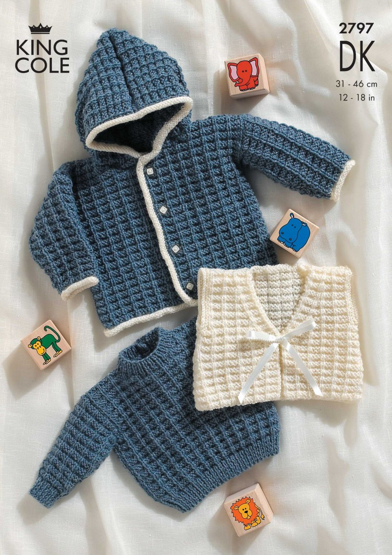 2797 DK - Knitting Pattern