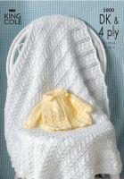 2800 DK & 4 PLY - Knitting Pattern