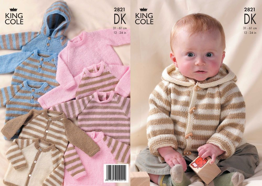 2821 DK - Knitting Pattern
