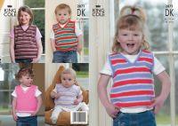 2871 DK - Knitting Pattern (Childrens)