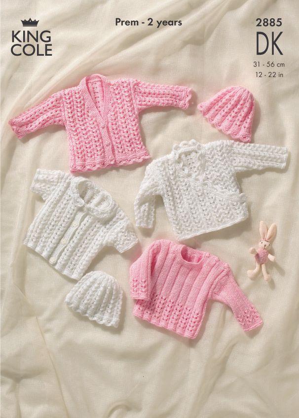 2885 DK - Knitting Pattern - Babies