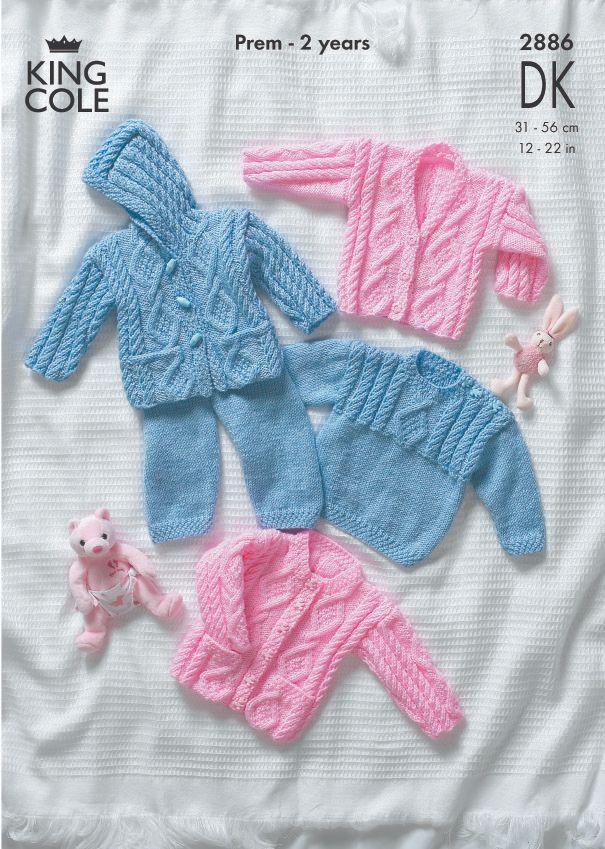 2886 DK - Knitting Pattern