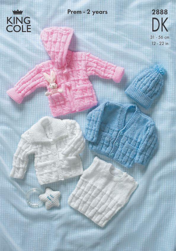 2888 DK - Knitting Pattern