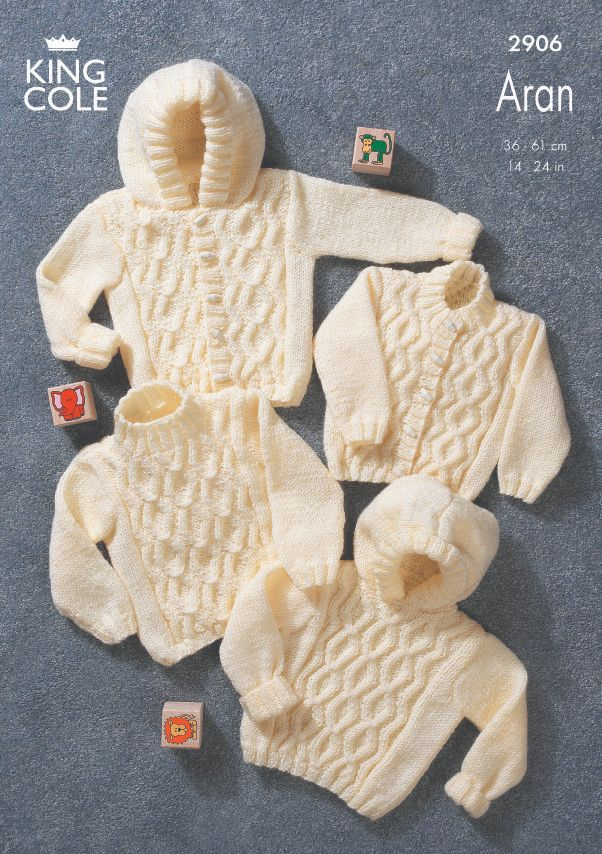2906 Aran - Knitting Pattern