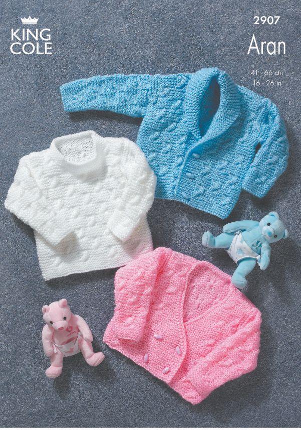 2907 Aran - Knitting Pattern
