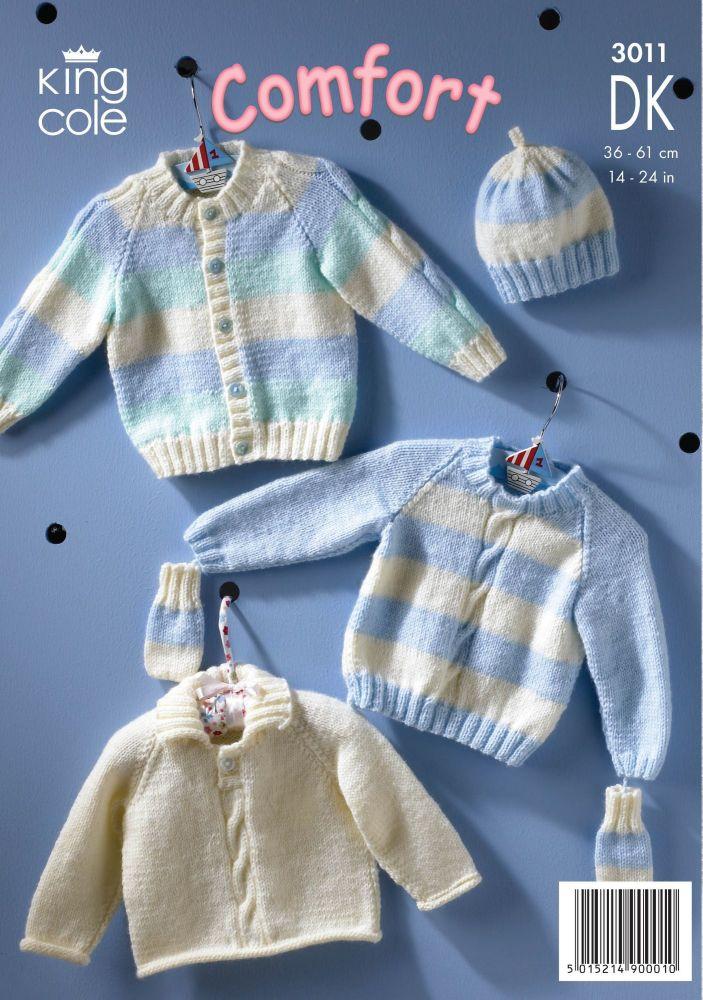 3011 COMFORT DK - Knitting Pattern Babies