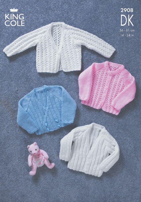 2908 DK - Knitting Pattern Babies