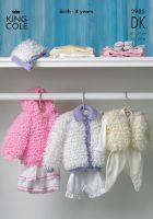 2985 DK - Knitting Pattern Babies