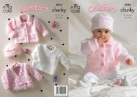 3044  Comfort Chunky - Knitting Pattern (Babie's)