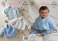 3047 Comfort Chunky - Knitting Pattern (Babies)