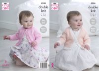 "5258 Knitting Pattern - 16 - 26"" Babies Double Knit"